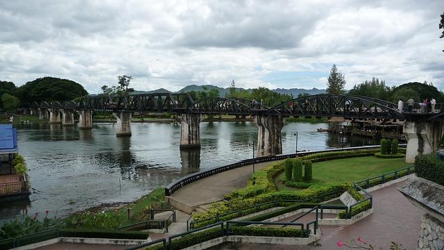 טיול מאורגן לתאילנד, הגשר על נהר קוואי