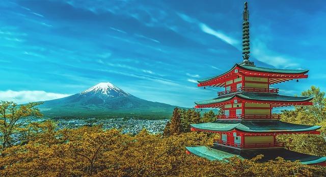 טיול ליפן , הר פוג'י
