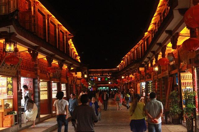 ליג'יאנג, טיול מודרך לסין