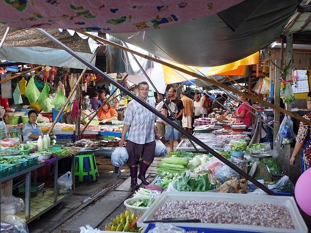 שוק בנגקוק