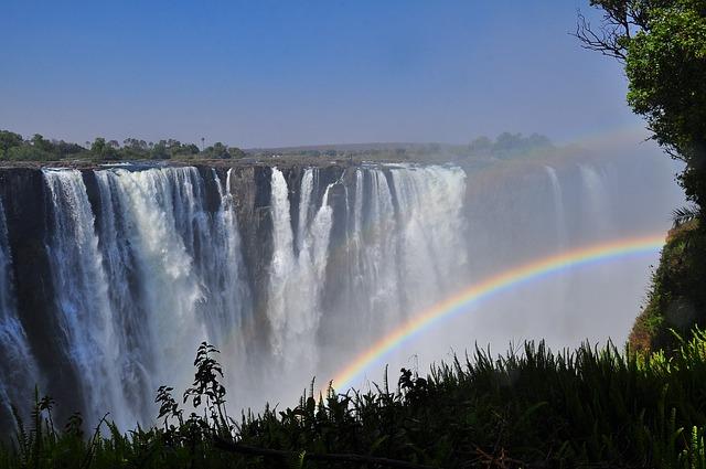 טיול מאורגן לדרום אפריקה, מפלי ויקטוריה