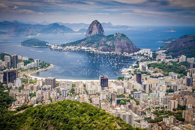 ריו דה ז'נרו, טיולים מאורגנים לברזיל