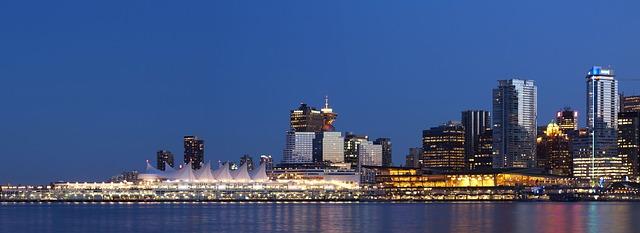 טיול לרוקים הקנדיים, וונקובר